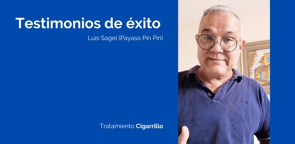 De esta manera Luis Sagel dejó de fumar